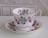 "Royal Albert ""Lorraine""  Tea Cup and Saucer"