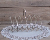 Reserve for Jackie - do not purchase Lovely Silverplate Toast Rack