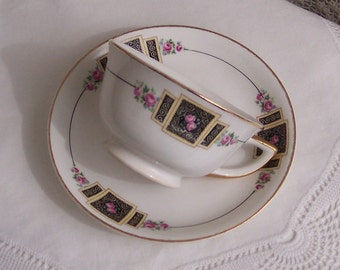 Cleveland China  Cup & Saucer