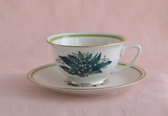 Royal Jackson Lily of the Valley Tea Cup and Saucer