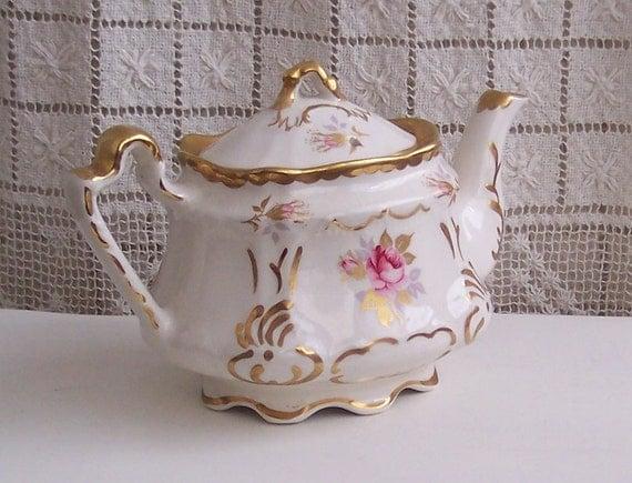Arthur Wood Regency Style English Teapot - Very Shabby Chic