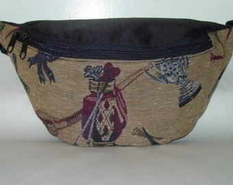 Golf Club   Tapestry Large  Fanny Pack