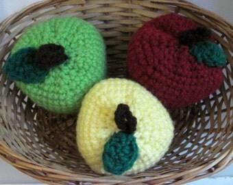 Crochet Apples-Set of 3