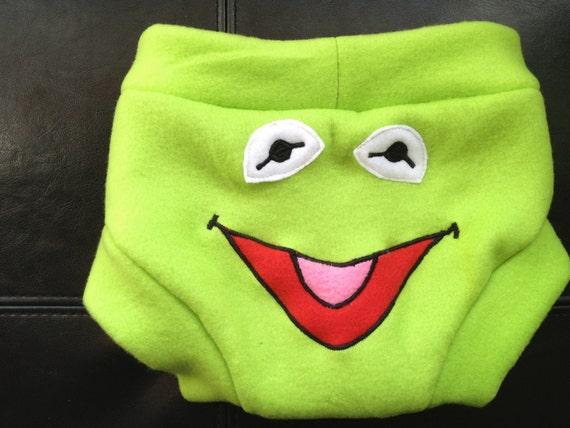 Fleece Training Pants: Kermit Size 2T- 3T
