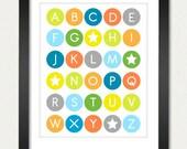 11x14 Alphabet Poster
