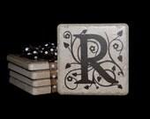 Tile/Stone Monogram Coaster