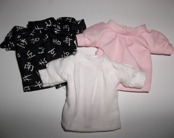 1/6th BJD Shirt/Blouse Made to Order, You choose color