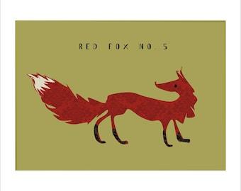 Red Fox no. 5