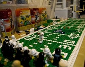 Patriots Minifigs and field