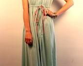 Sea-foam Green Summer Dress