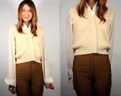 Cream Sweater Vest