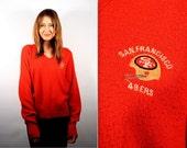 1970s San Francisco 49ers Sweater