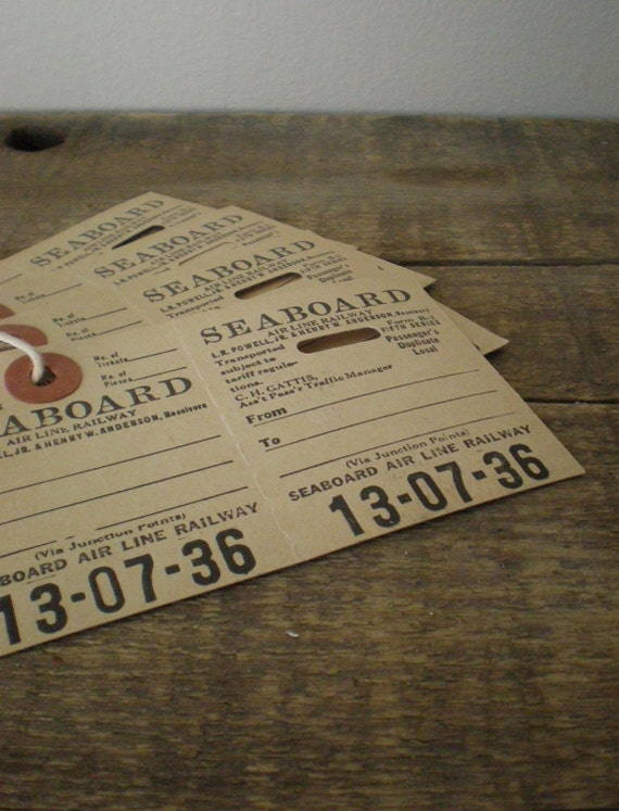 antique railroad luggage tags (3)