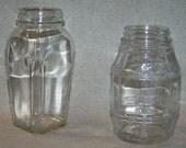 Gothic Art Deco and Pickle Barrel Vintage Mason Canning Jars