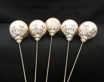 """Crown Pearl Jewel Picks 5"""" 5pc"""