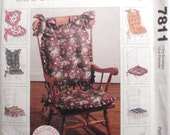 Home Dec Pattern for Chair Cushions - McCall's Home Decorating 7811