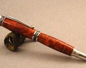 Wood Fountain Pen in Amboyna Burl