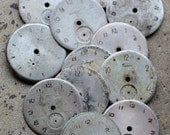 Vintage Soviet Watch Faces -- set of 12 -- D3