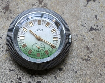Vintage soviet Russian mens wristwatch ZIM