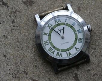 Vintage wristwatch LUCH
