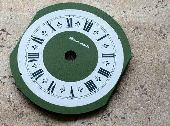 Vintage Soviet clock Jantarj dial -- metal