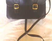satchel bag leather two buckle classic satchel