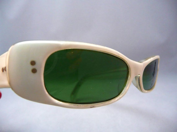 GLASSES - sunglasses - FRANCE - mother of PEARL - frames