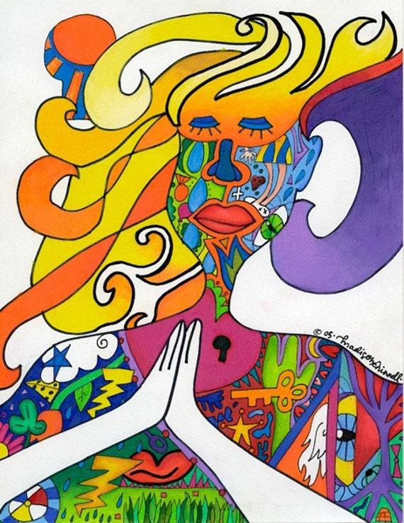 Pray (art print)
