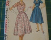 Vintage half-size dress pattern Simplicity 1545