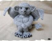 My Little Gargoyle  :  Pattern only IMMEDIATE DOWNLOAD