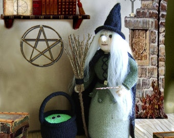 Witchypoo  toy halloween witch :  Pattern only IMMEDIATE DOWNLOAD