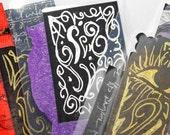 Eye of Horus Art Gift Bookmark Set OOAK