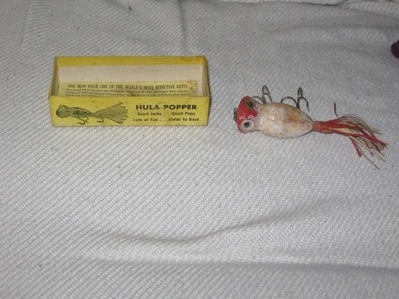 popper hula vintage arbogast fred