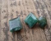 11.80 Ct 3 GREEN EMERALDS