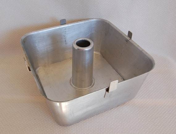 Wear Ever Vintage Square Angel Food Cake Pan Square Bundt Pan