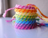 SALE - Tri Colored Woven Bracelet (Buy 3, Get 1 FREE)