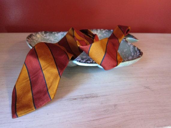 Necktie HARRY POTTER skinny tie 1960s mod acetate