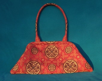 Chinese Red Shoulder Clutch