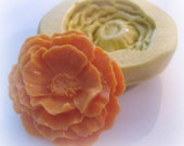 Large Poppy Spring Flower Chocolate Mold Silicone Large Flowers Mould