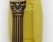 Fondant Mold Roman Pillar Column Mold Silicone Resin Clay PMC Fondant Mould