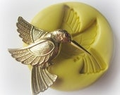 Hummingbird Mold Bird Clay Resin PMC Fondant Mould