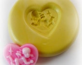 Kawaii Mold Mould Resin Clay Fondant Wax Soap Miniature Sweet Flower Victorian Jewelry Charms Flexible Molds