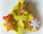 Silicone Molds Christmas Tree Mold Clay Fondant Resin Mold Mold