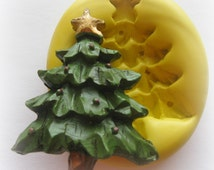 Christmas Tree Mold Clay Fondant Resin Mold Mold