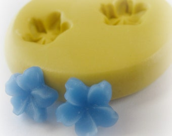 Tiny Flower Silicone Mold Clay Resin Morning Glory Resin Mould
