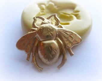 Wasp Bee Silicone Mold Fondant Candy Clay PMC Molds