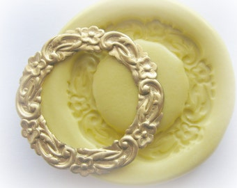 Christmas Wreath Mold Silicone Resin Clay PMC Fondant Mould