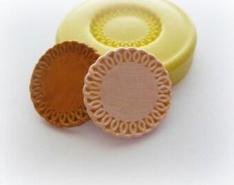 Miniature Dollhouse Plate Mold Kawaii Sweets Mould