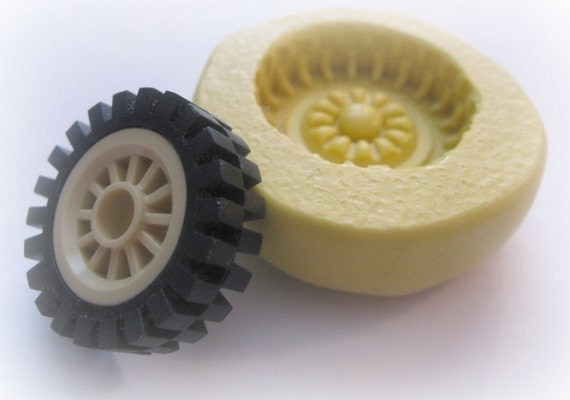 Tire Mold Toy Car Tire Tread Mould Kawaii Fondant Candy Mold from WhysperFairy on Etsy Studio