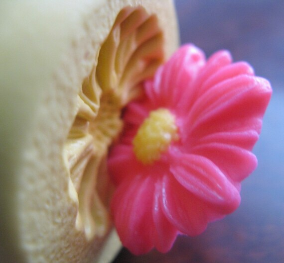 Daisy Mold Flower Mold Mould Clay Resin Cabochon